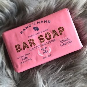 Hand In Hand Cactus Blossom Vegan Bar Soap